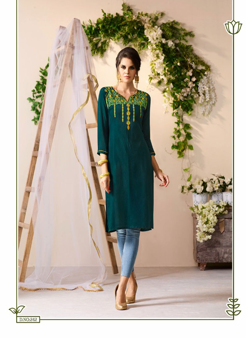 Aarveecreation Kurtis Wholesaler Of Dress Material And